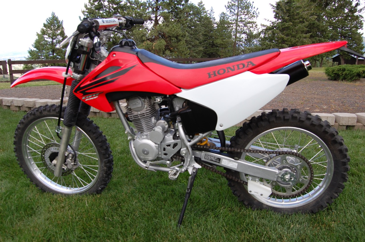 Honda 230 Dirt Bike