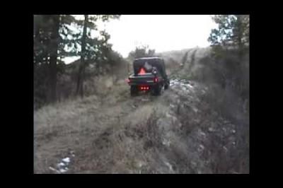 Polaris Ranger  - Up The Hill