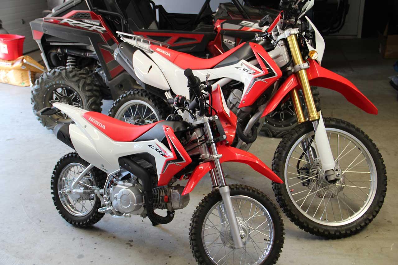 Honda 110 Motorcycle